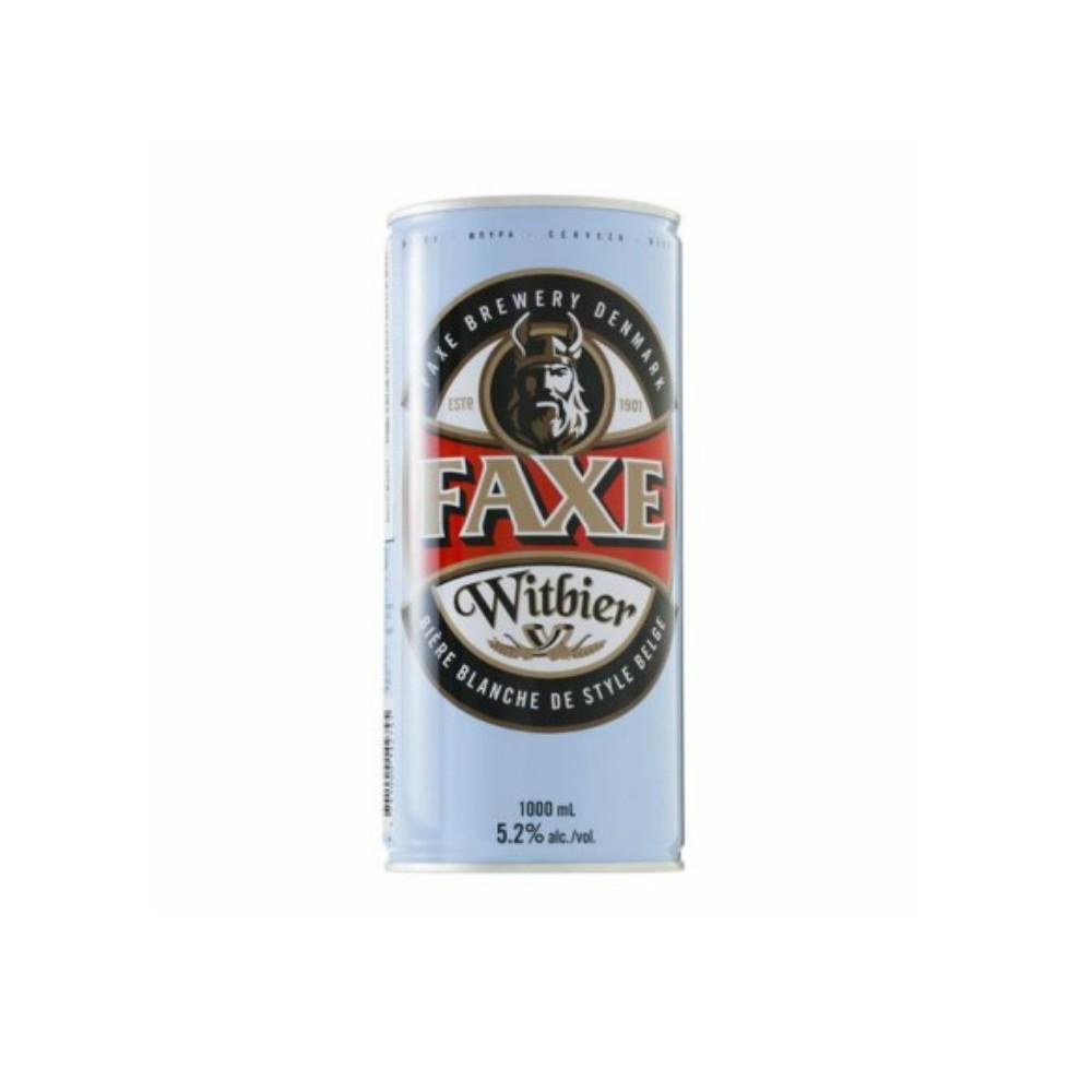 Faxe Witbier 1L - Dinamarca - 5.2º (trigo)