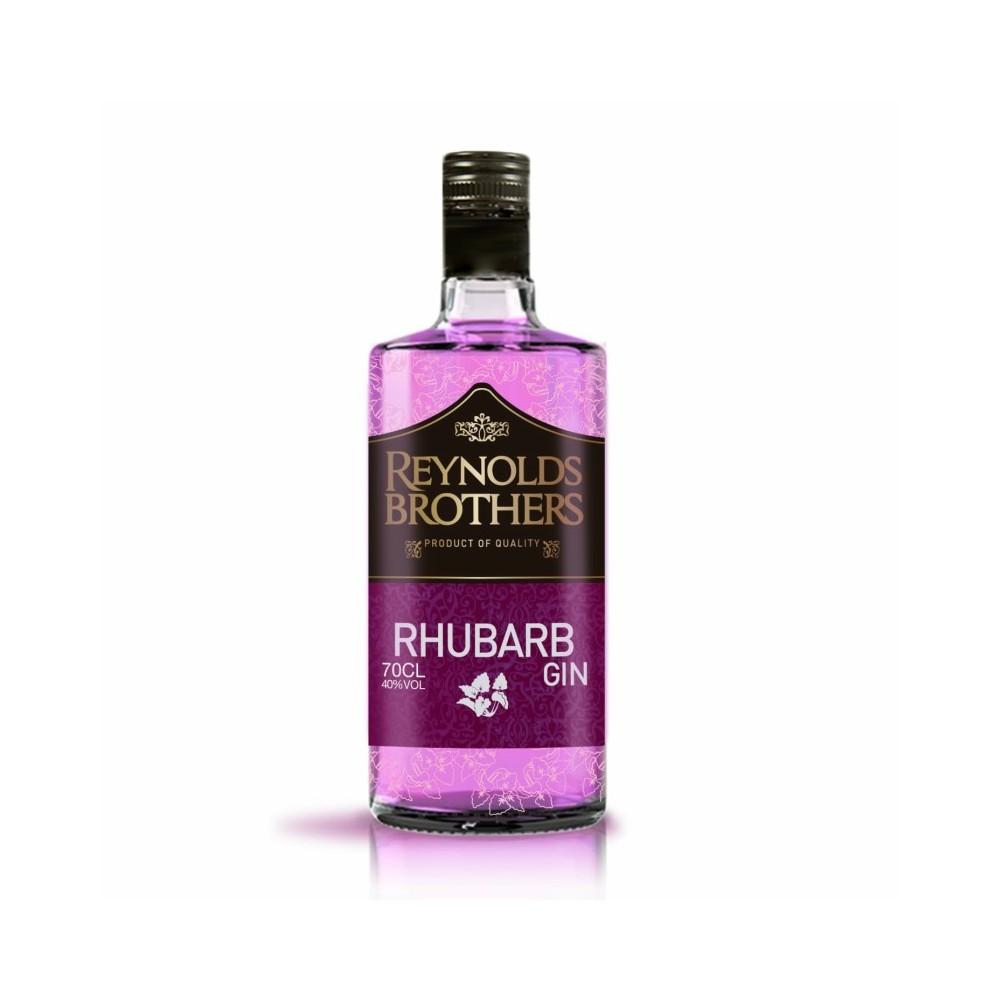 Rhubarb Gin Reynolds Brothers 40º