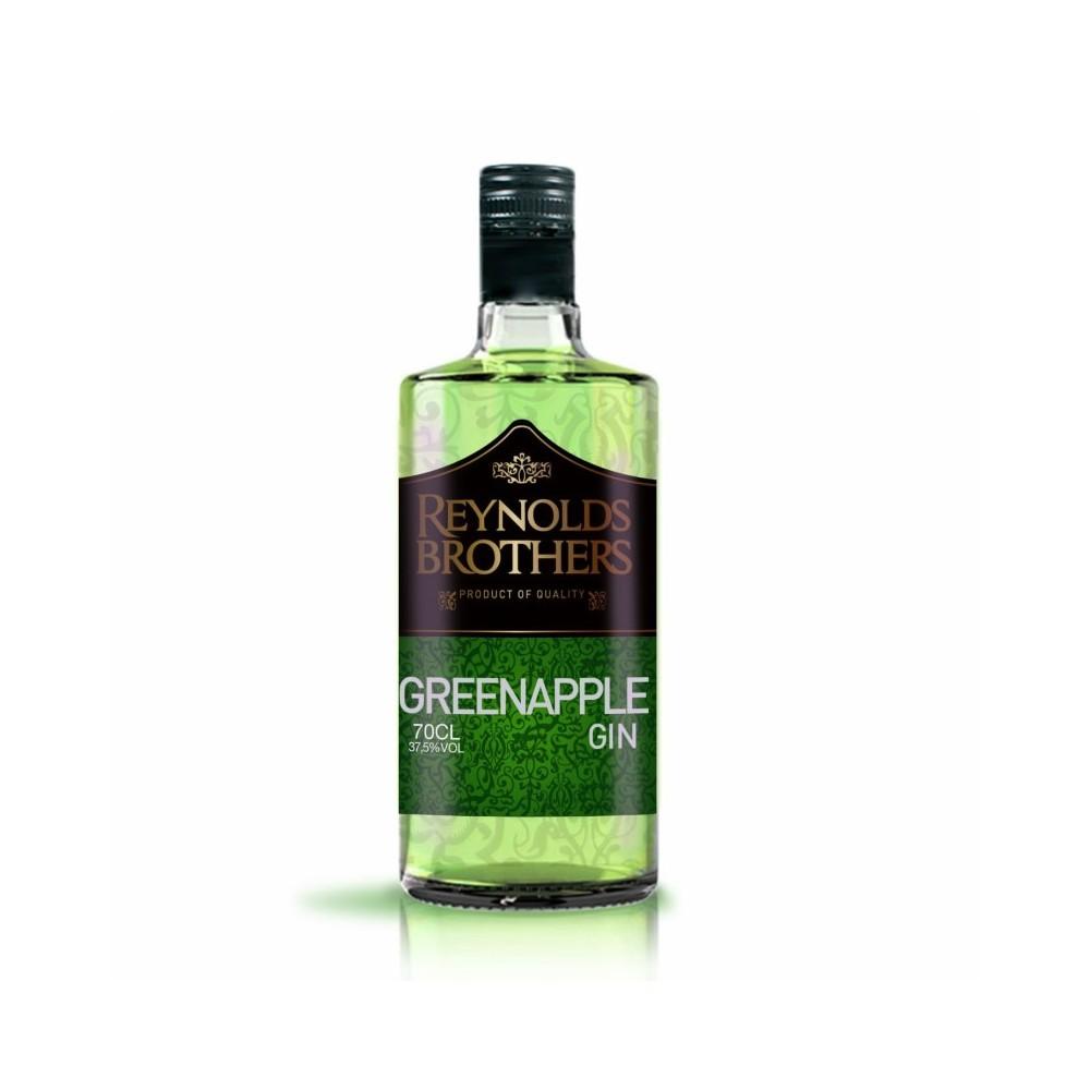 Green Apple Gin Reynolds Brothers 37.5º