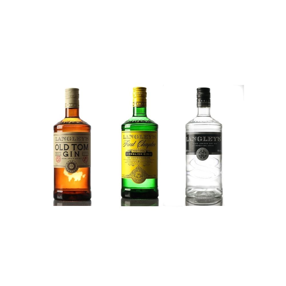 PACK LANGLEY'S - 3 botellas