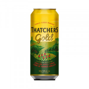 Thatchers Gold Can 500ml -...