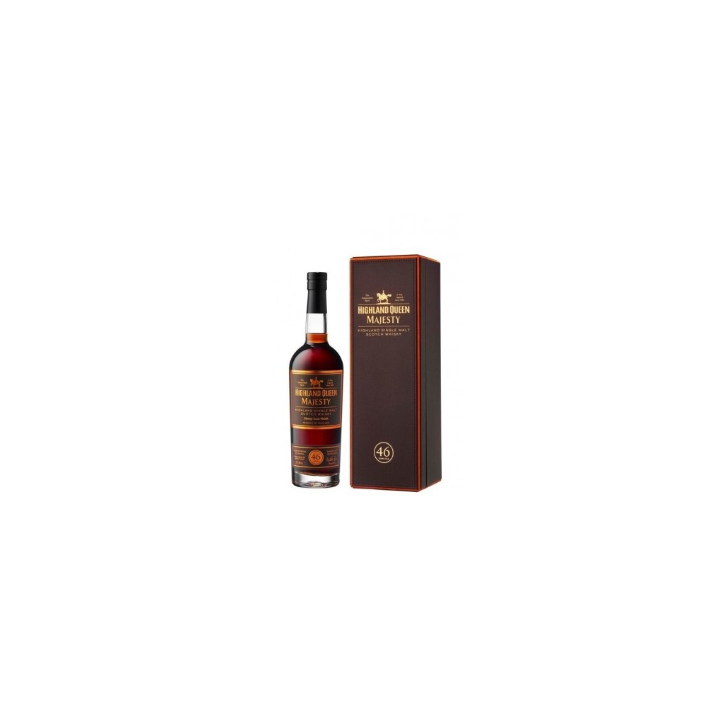 WHISKY HIGHLAND QUEEN MAJESTIC 46 AÑOS 70CL - 46º