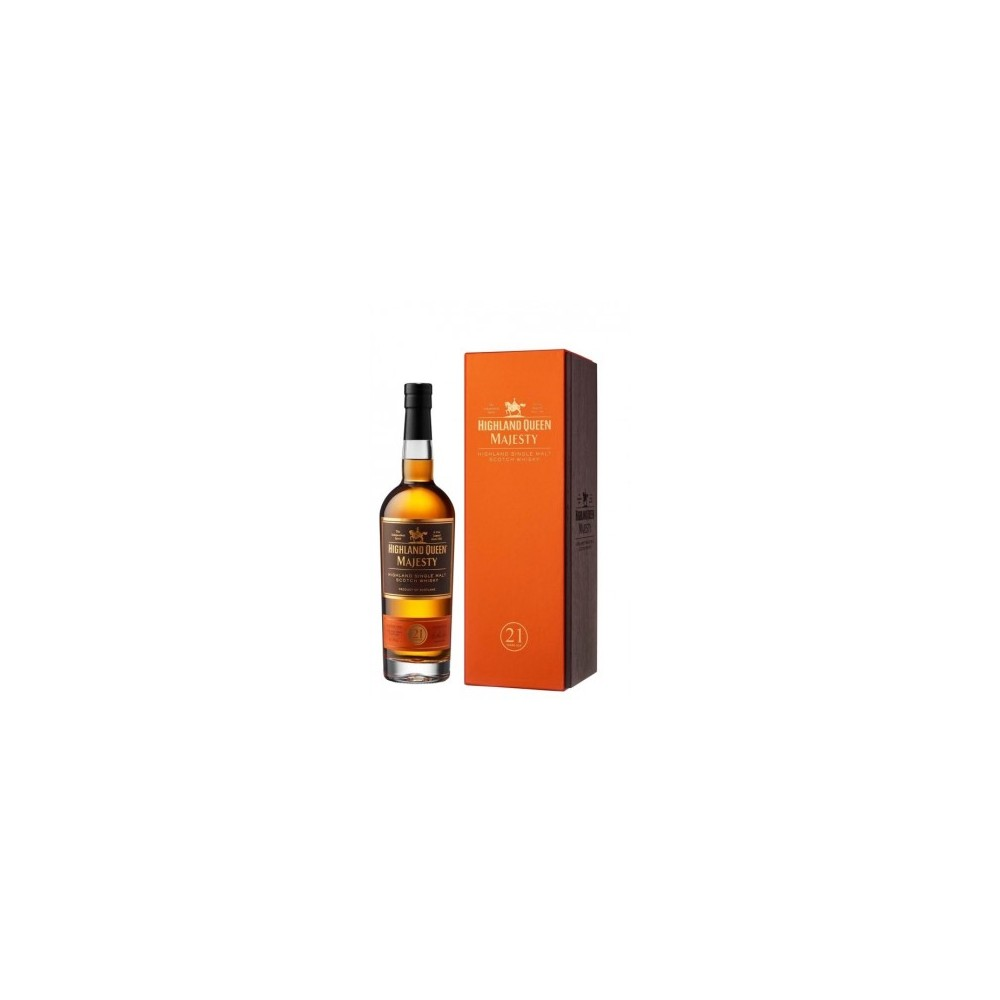WHISKY HIGHLAND QUEEN MAJESTIC 21 AÑOS 70CL -40º