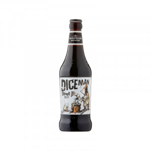 Diceman Stout 5% bottle