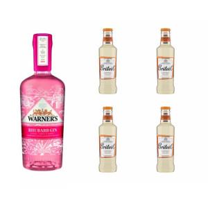 Pack Gin Ruibarbo Warner's...
