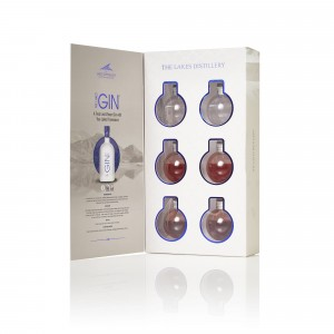 THE LAKES GIN BAUBLES 6x5cl...