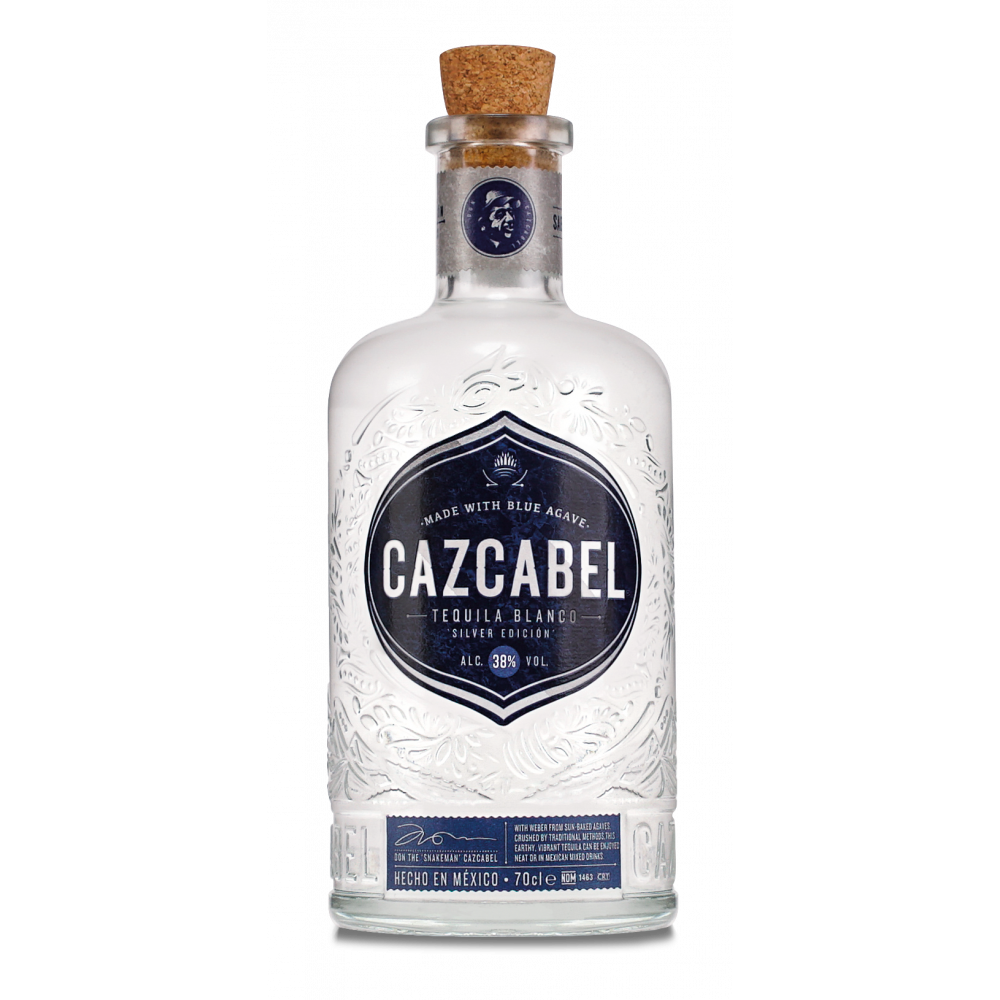 Cazcabel White Tequila - 38º