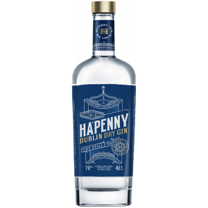 Ha'penny Dublin Dry Gin -...