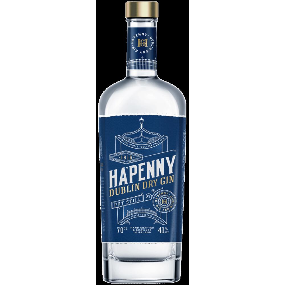 Ha'penny Dublin Dry Gin - Ireland - 41º