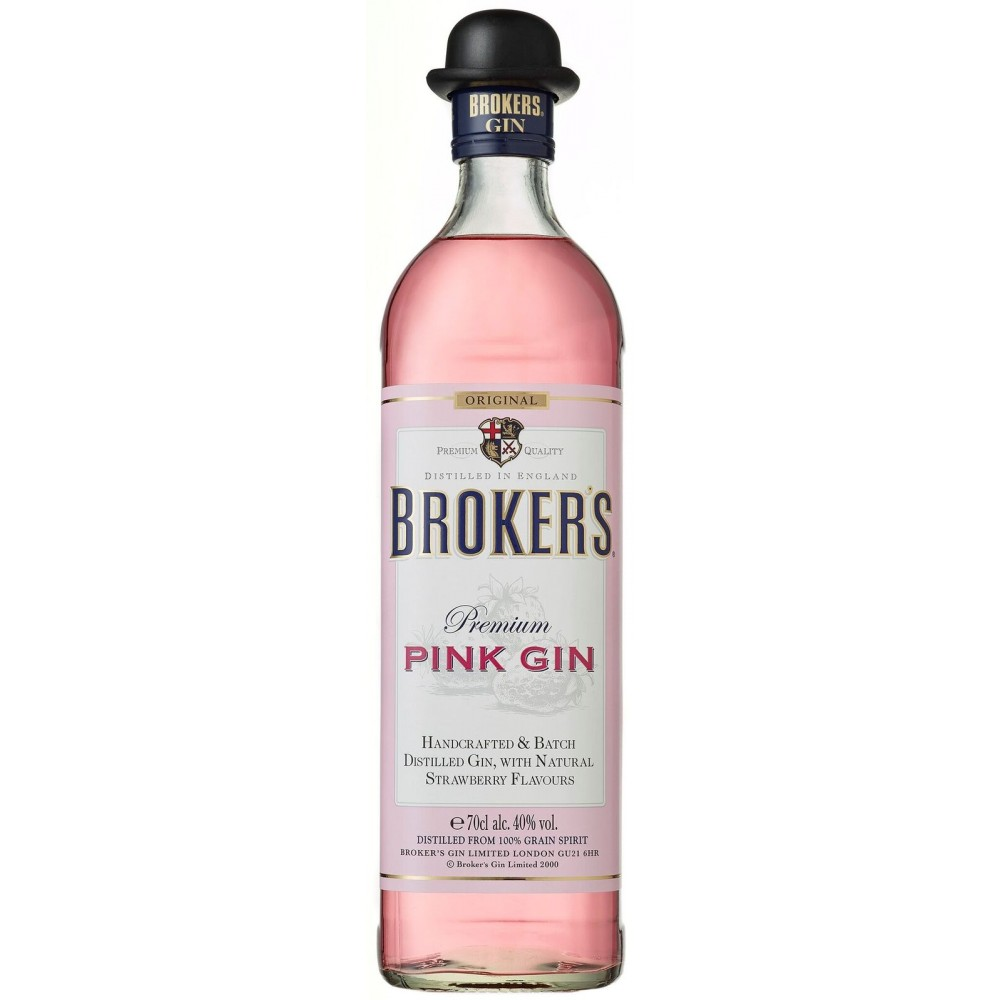 Broker's Gin Pink - Inglaterra - 40º