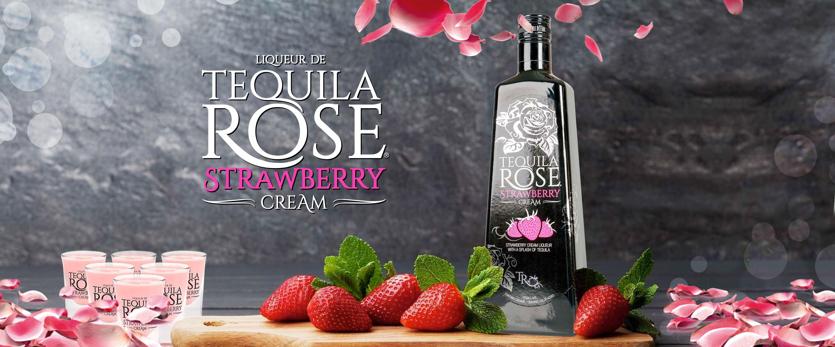 tequila strawberry cream